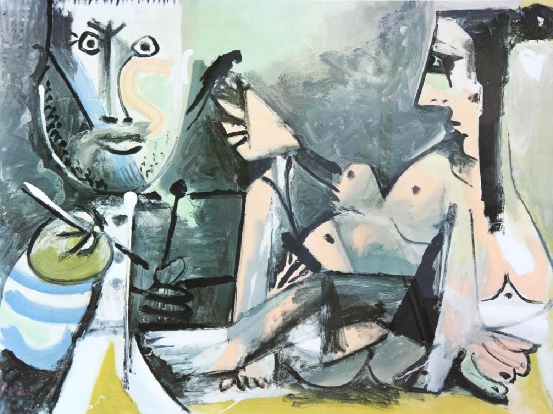 Pablo Picasso Litho The Artist and His Model - 2