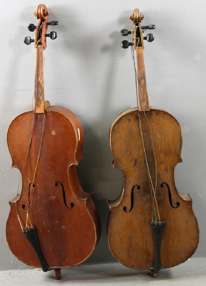 Two Antique Cellos
