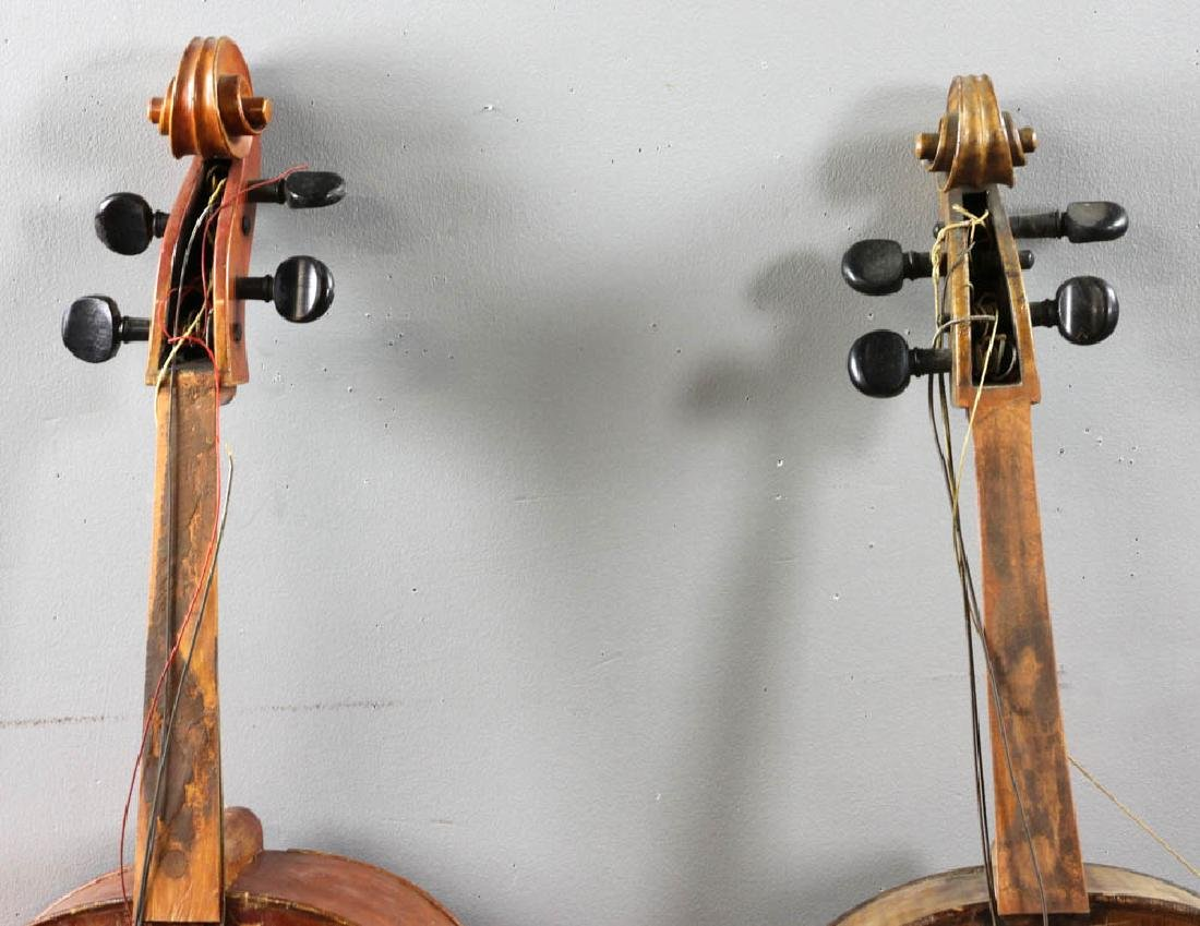 Two Antique Cellos - 2