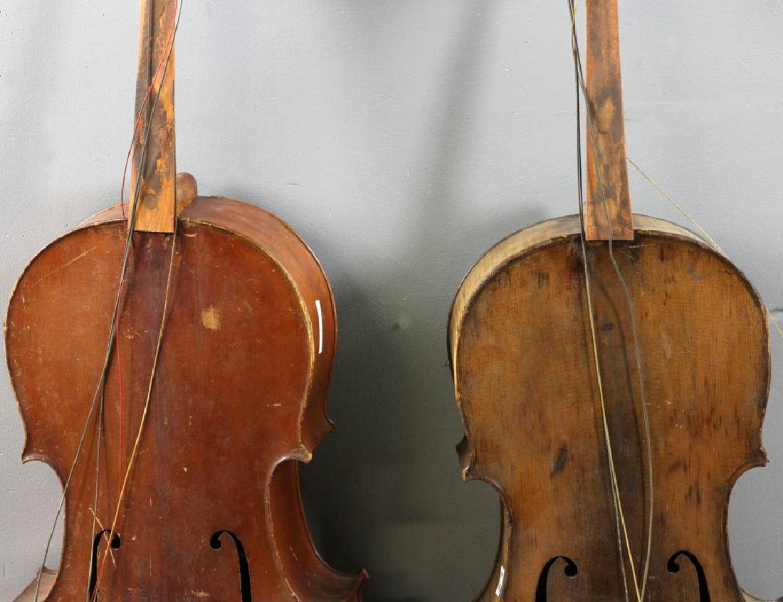 Two Antique Cellos - 3