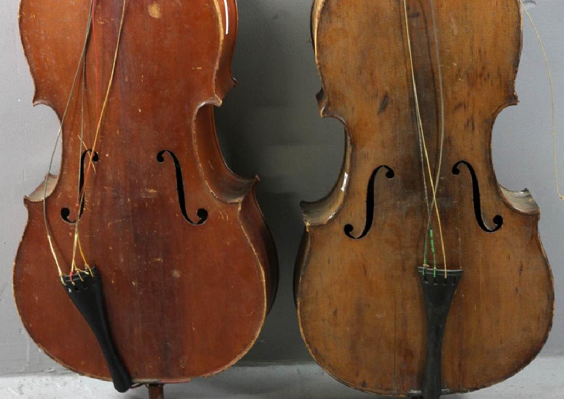 Two Antique Cellos - 4