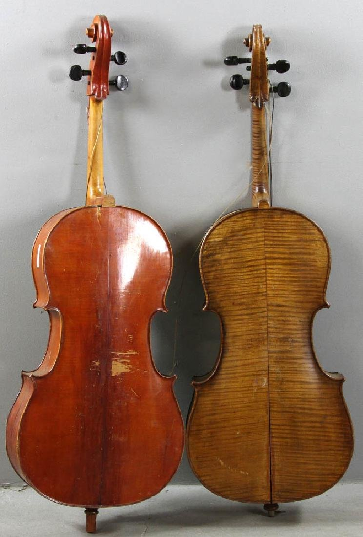 Two Antique Cellos - 7