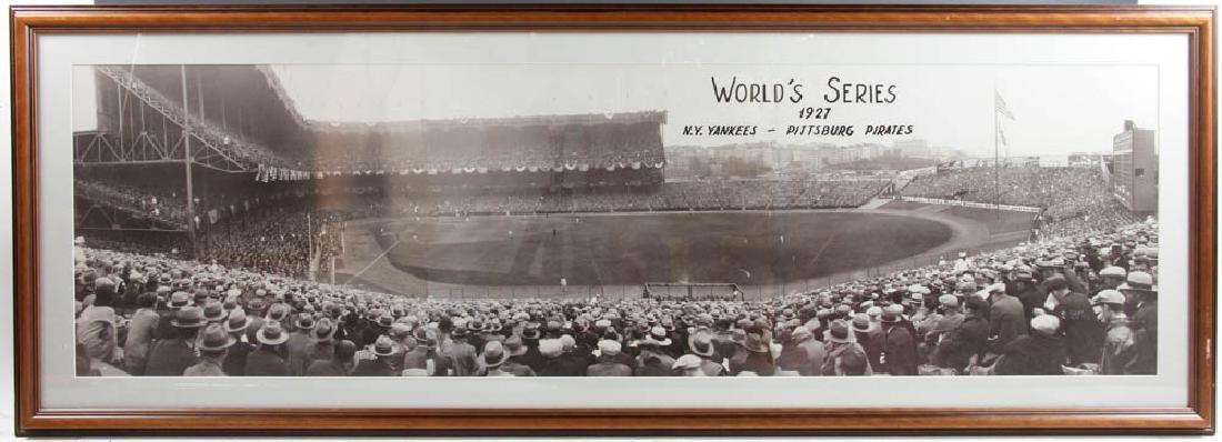 Three Panoramic Baseball Photos - 10