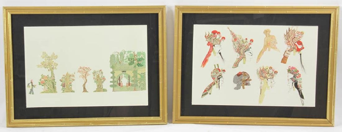 Collection of Eight Japanese prints - 10