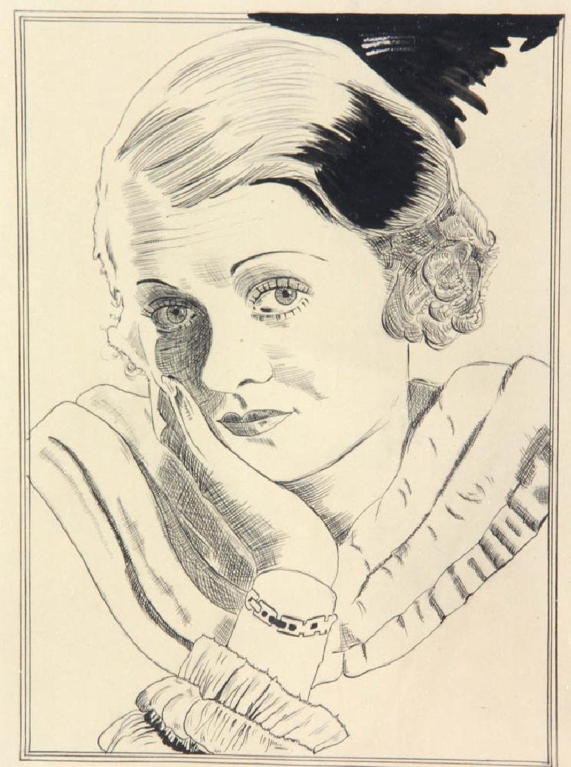 William Blume Signed Pencil Drawing - 4