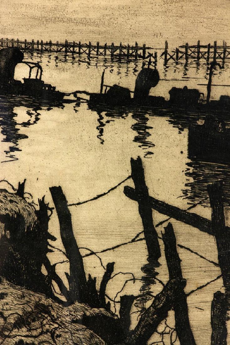 Jules VandeLune Etching - 5