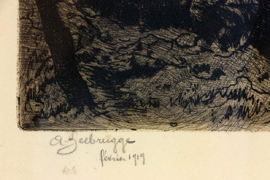 Jules VandeLune Etching - 6