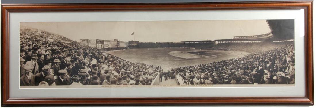 1912 World Series Panoramic Photo