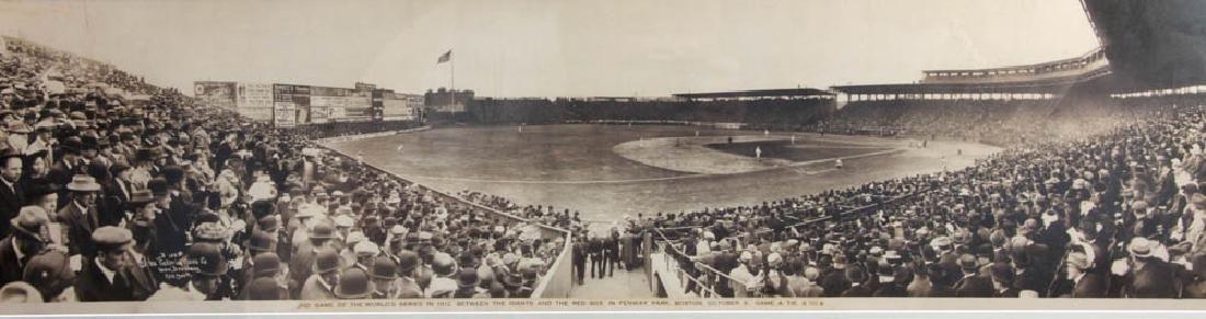 1912 World Series Panoramic Photo - 2
