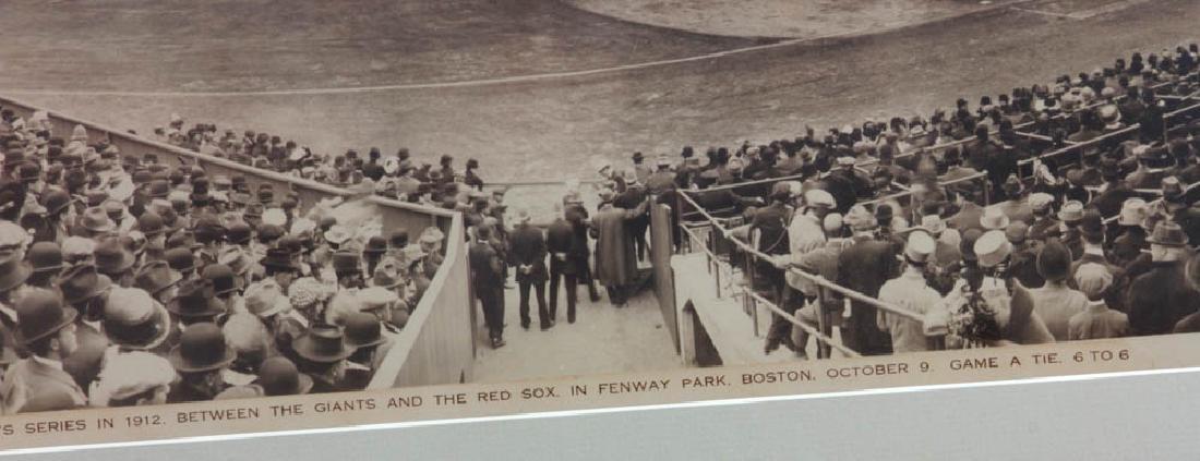 1912 World Series Panoramic Photo - 4