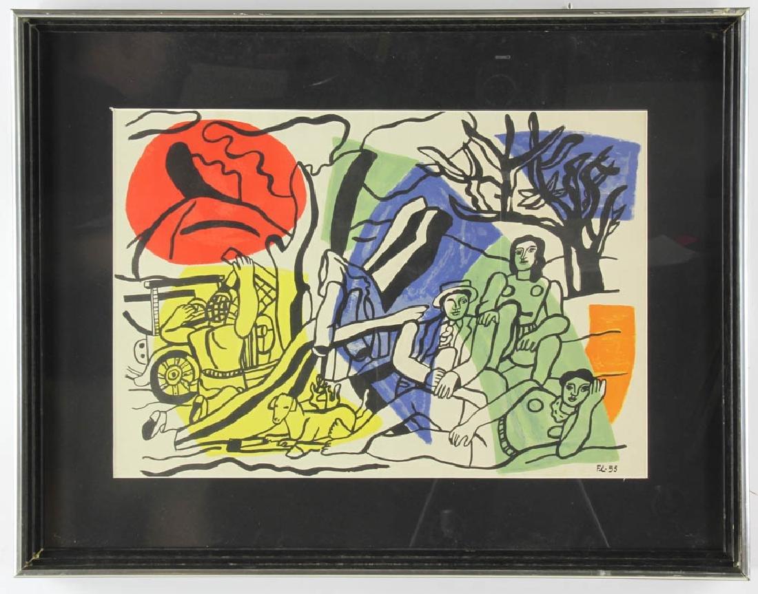 Ferdinand Legere Print