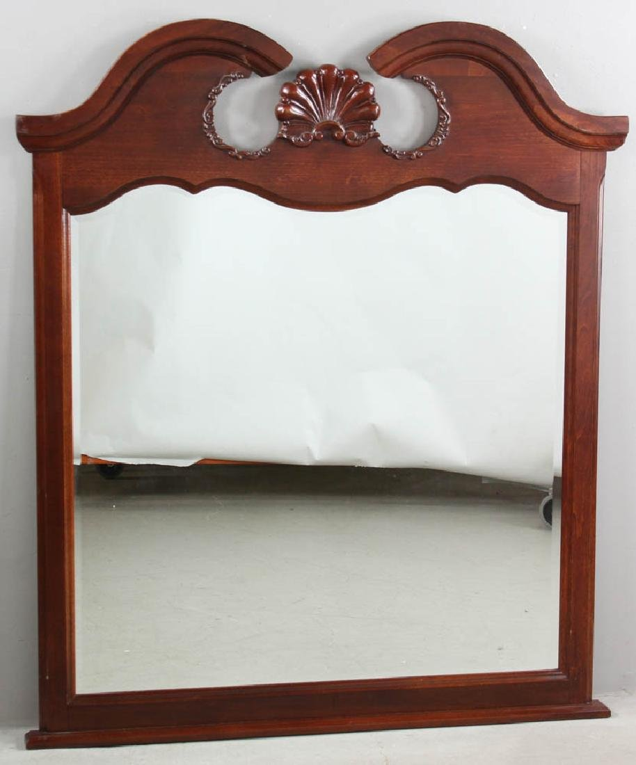Chippendale Style Mahogany Mirror