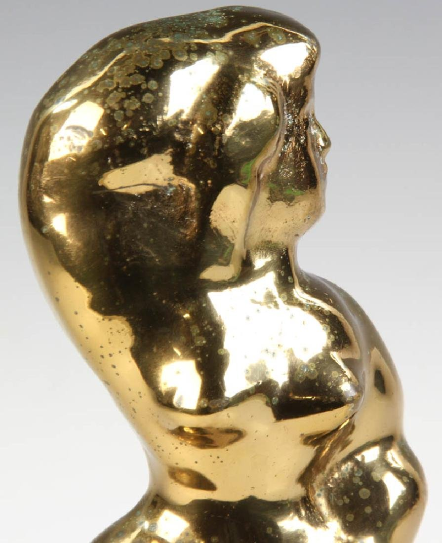 Chaim Gross Bronze of Woman Combing Hair - 6
