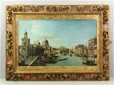 James, Grand Canal Venice, Oil on Canvas