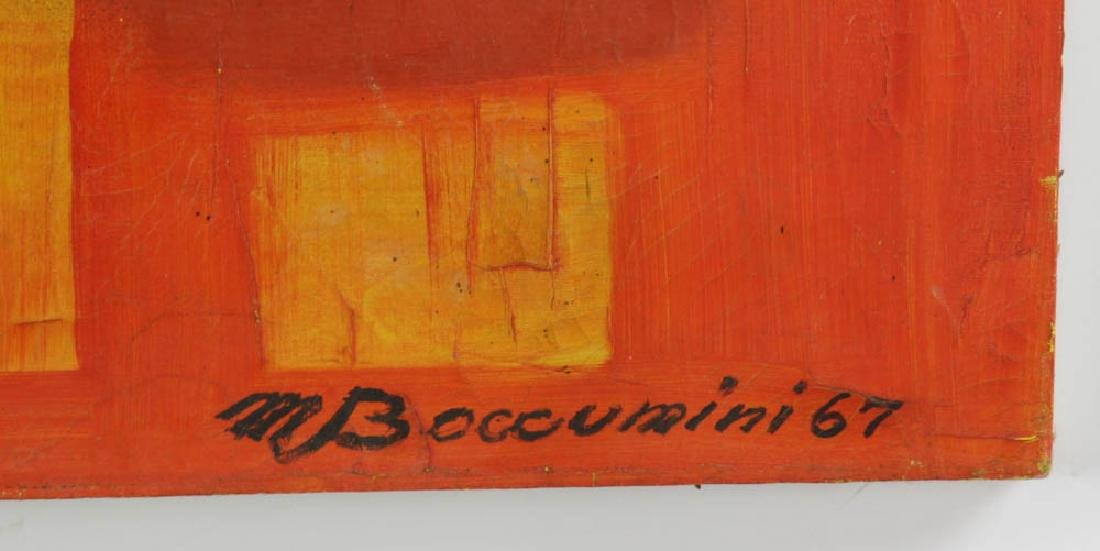 M. Boucunini Abstract Oil on Canvas - 3