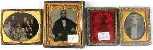 Collection of Three Antique Photographs
