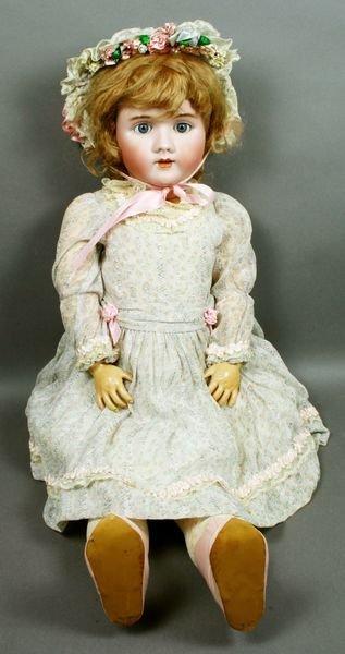 5304: C1935 Heinrich Handwerk Bisque Head Doll, #109