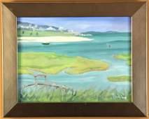 Peter Corbino Annisquam River Oil on Canvas