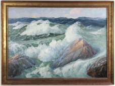 Gilbert Tucker Margeson, Stormy Sea
