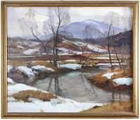 Emile Gruppe Meadow Stream Vermont