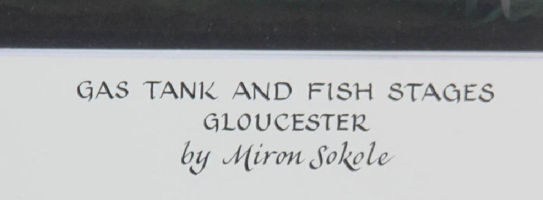 Miron Sokole, Gas Tank and Fish Stages - 3