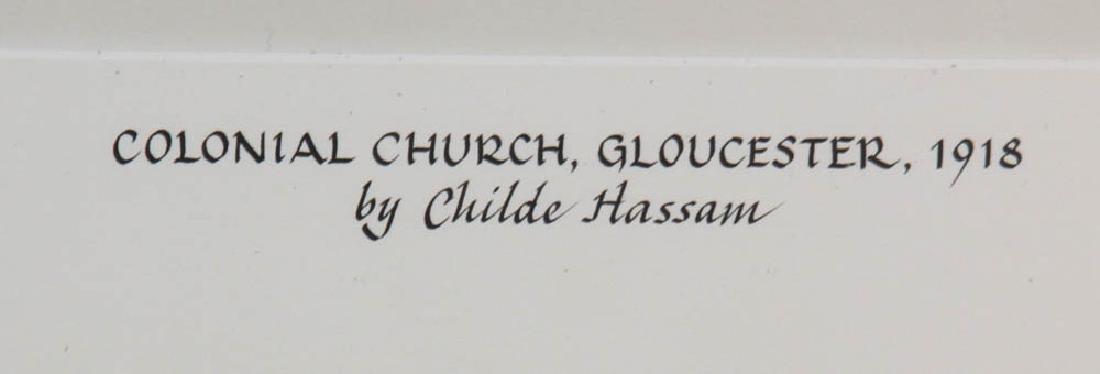 Childe Hassam, Colonial Church Gloucester - 3