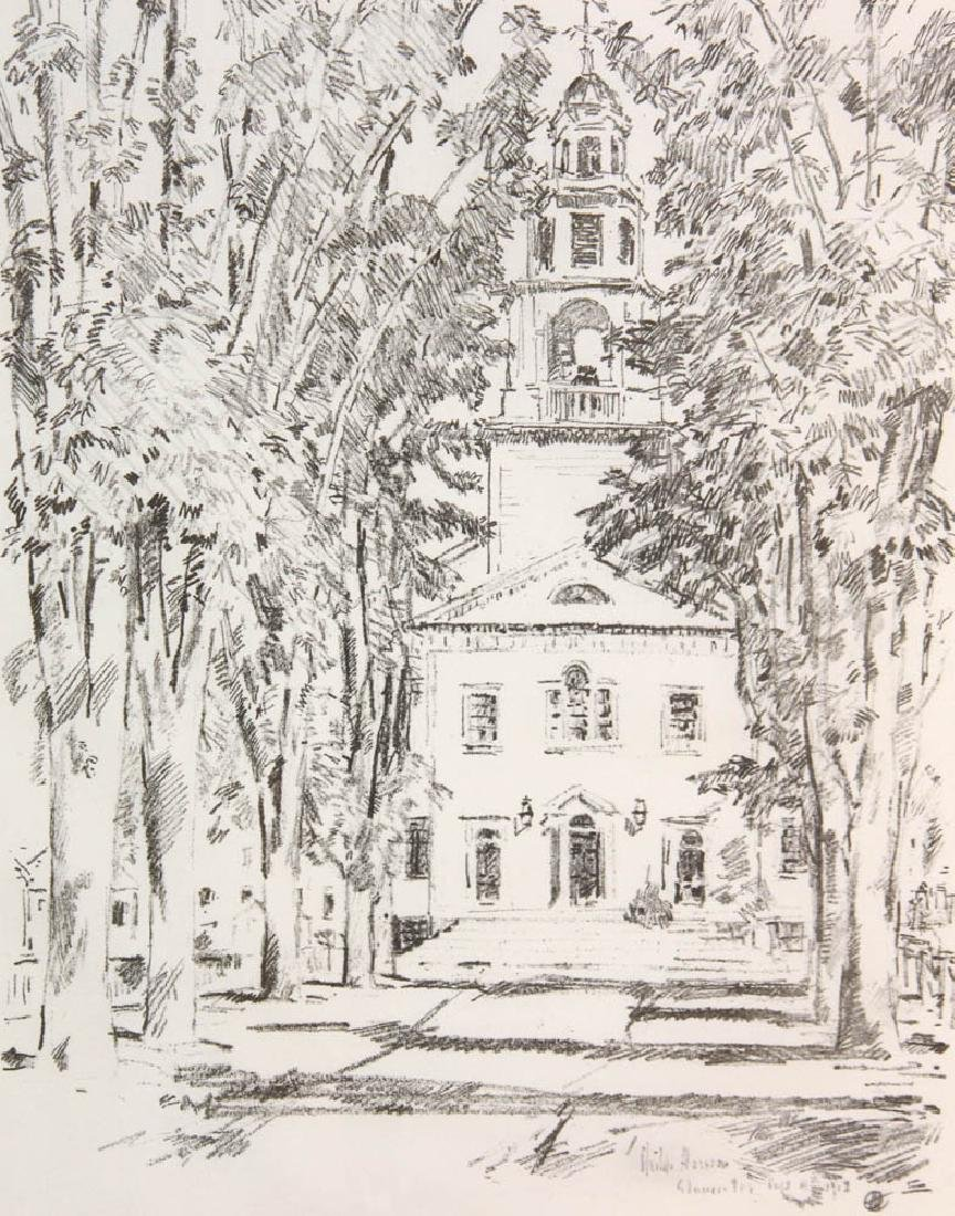 Childe Hassam, Colonial Church Gloucester - 4