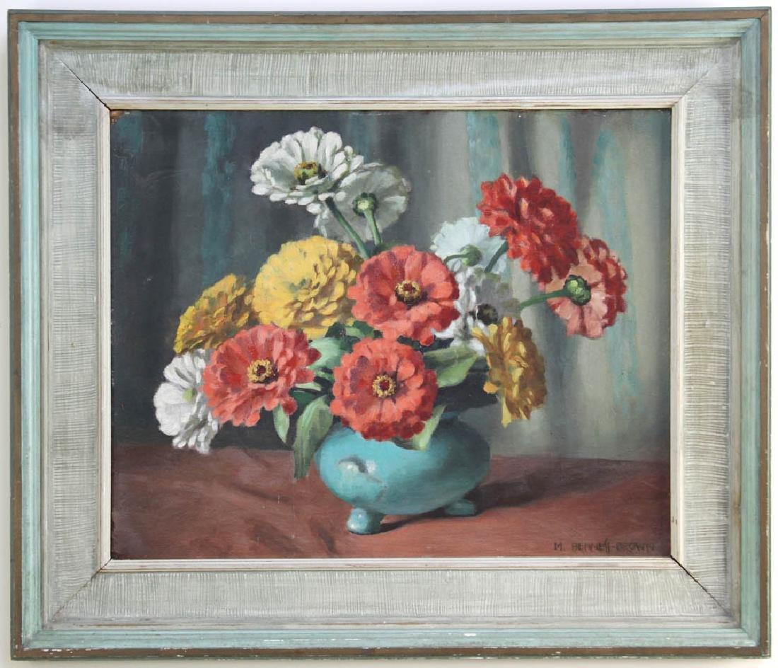 Mae Bennett-Brown, Flowers in Vase