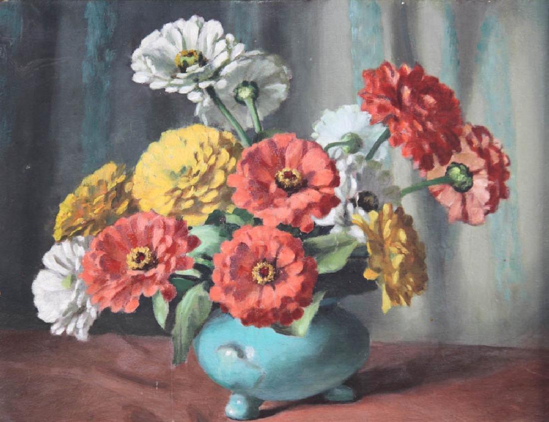 Mae Bennett-Brown, Flowers in Vase - 2