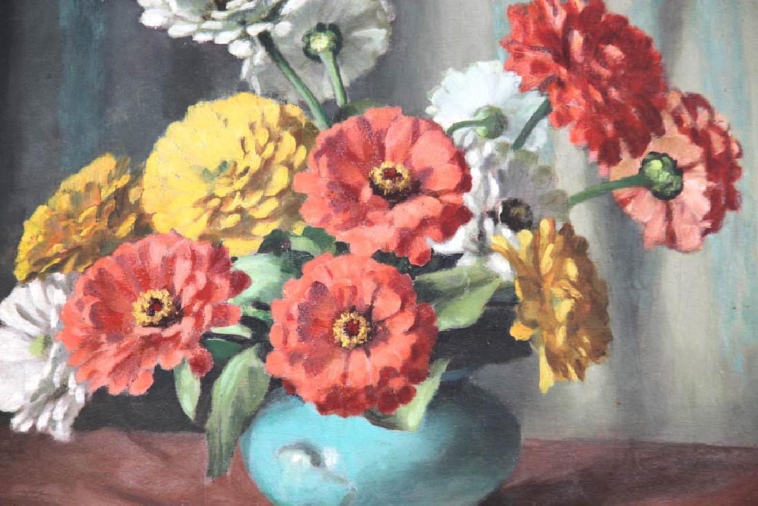 Mae Bennett-Brown, Flowers in Vase - 3
