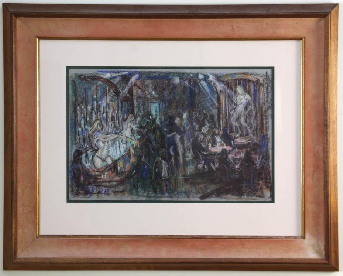 Philip Reisman, Revelry, Pastel