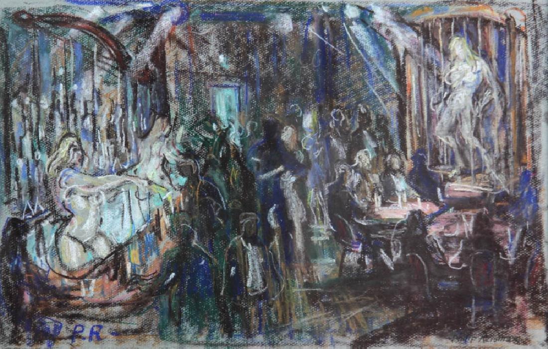 Philip Reisman, Revelry, Pastel - 2