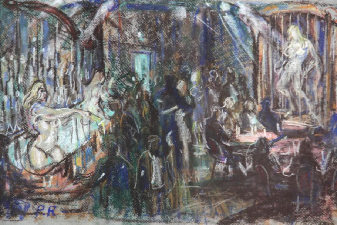 Philip Reisman, Revelry, Pastel - 5