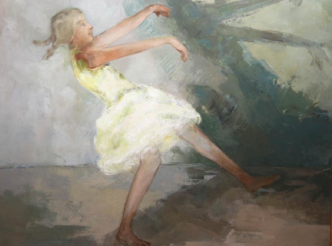 Joseph Jeswald, Dancer, Oil on Canvas - 2