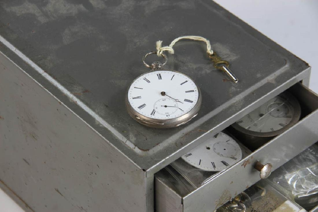 Three Key Wind Pocket Watches and Parts - 2