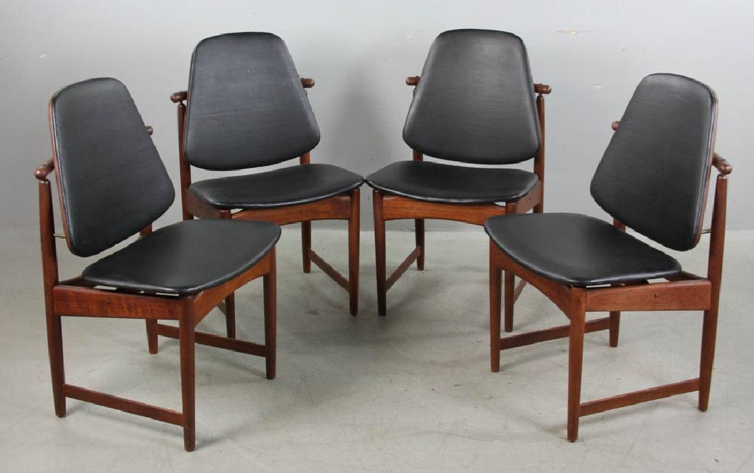 Danish Modern Chairs by Hovmand-Olsen