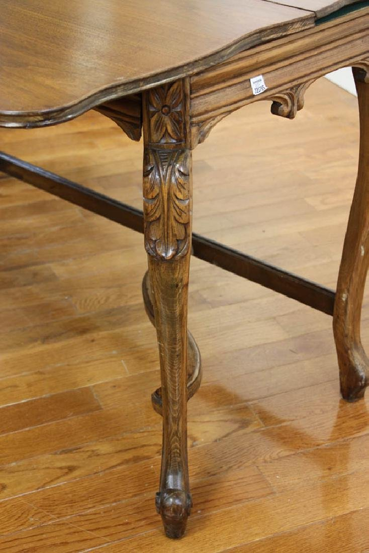 French Walnut Hall Table - 4