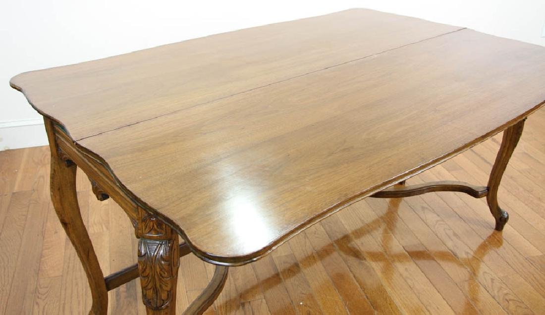 French Walnut Hall Table - 5
