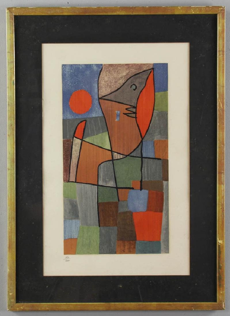 Limited Edition Abstract Print of Fish