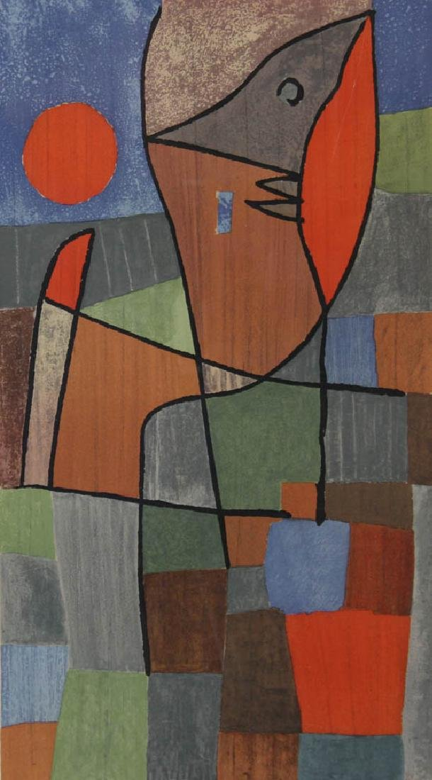 Limited Edition Abstract Print of Fish - 2