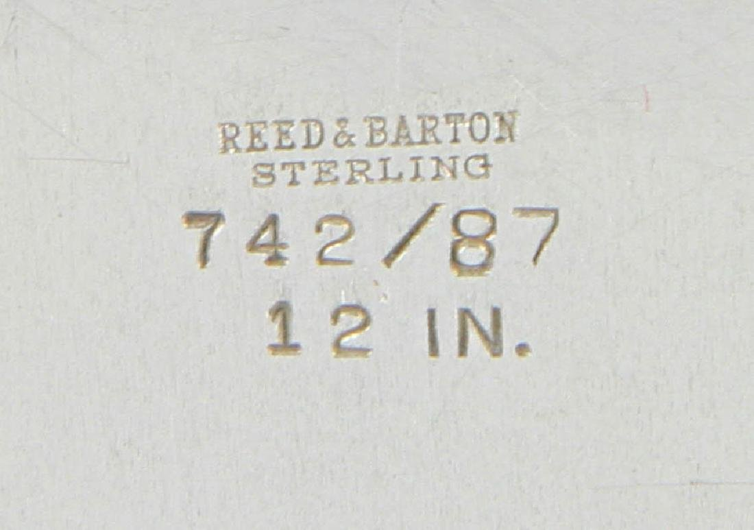 Reed & Barton Sterling Tea Service w/ Tray - 8