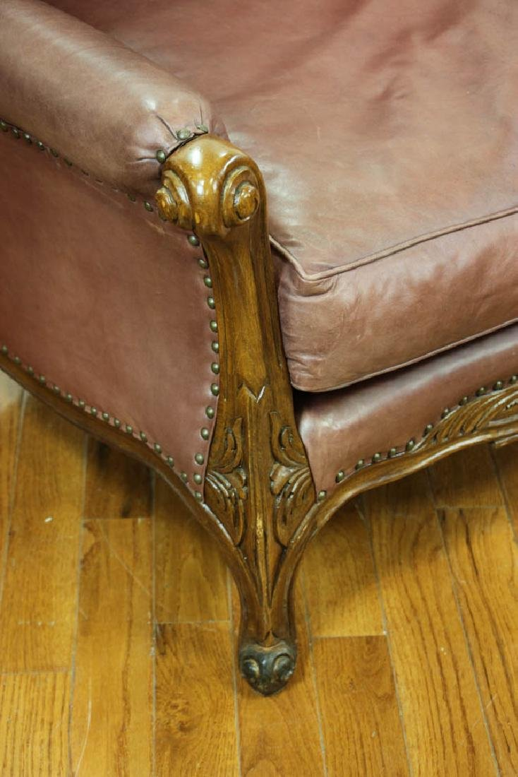 Ralph Lauren Leather Club Chair - 4