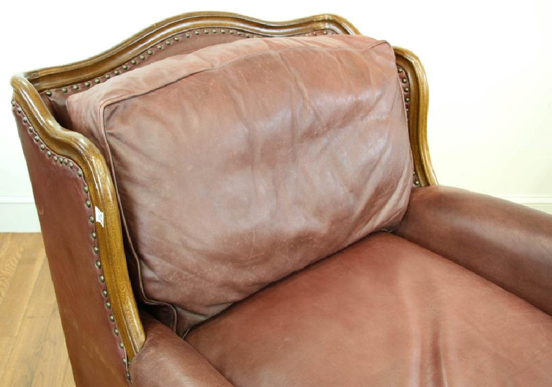 Ralph Lauren Leather Club Chair - 6