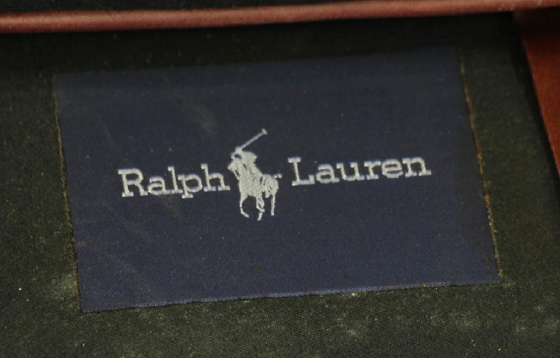 Ralph Lauren Leather Club Chair - 8