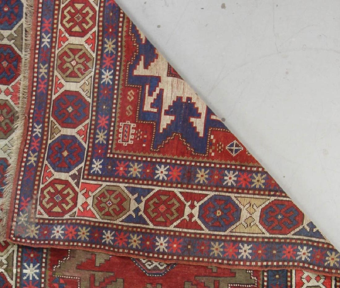 Antique Caucasian Kazak Rug - 5