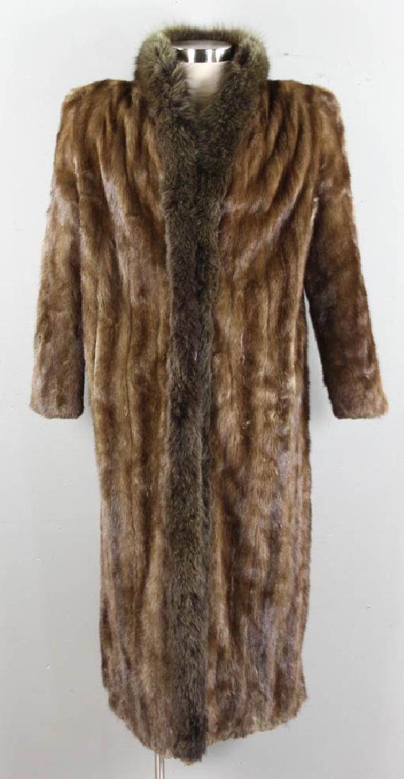Full Length Mink Coat from Glama Furs