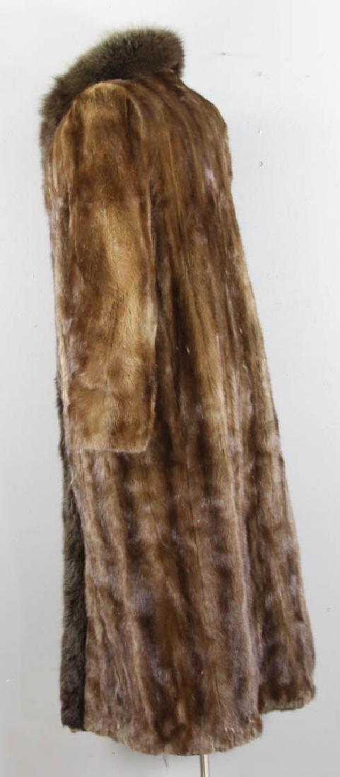 Full Length Mink Coat from Glama Furs - 5