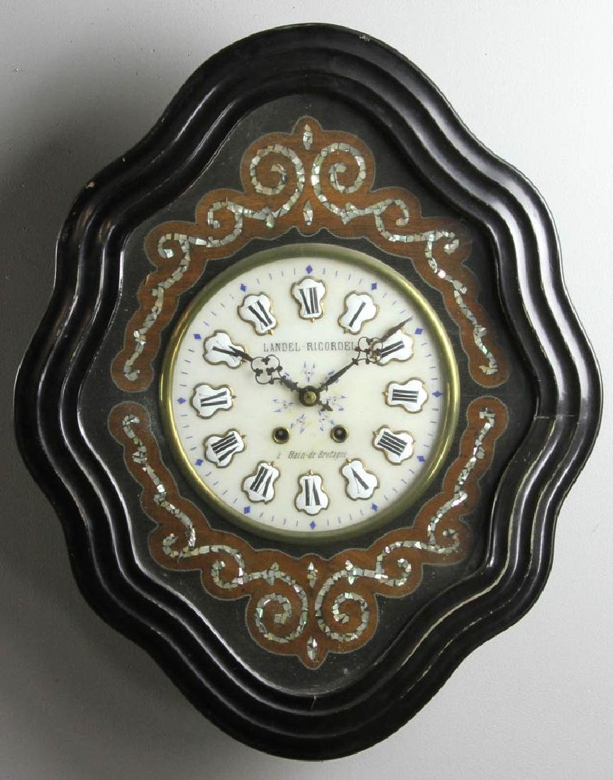 French Wall Clock, Landel Ricordel