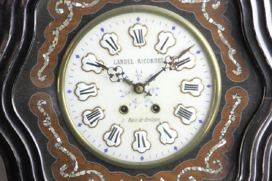 French Wall Clock, Landel Ricordel - 2