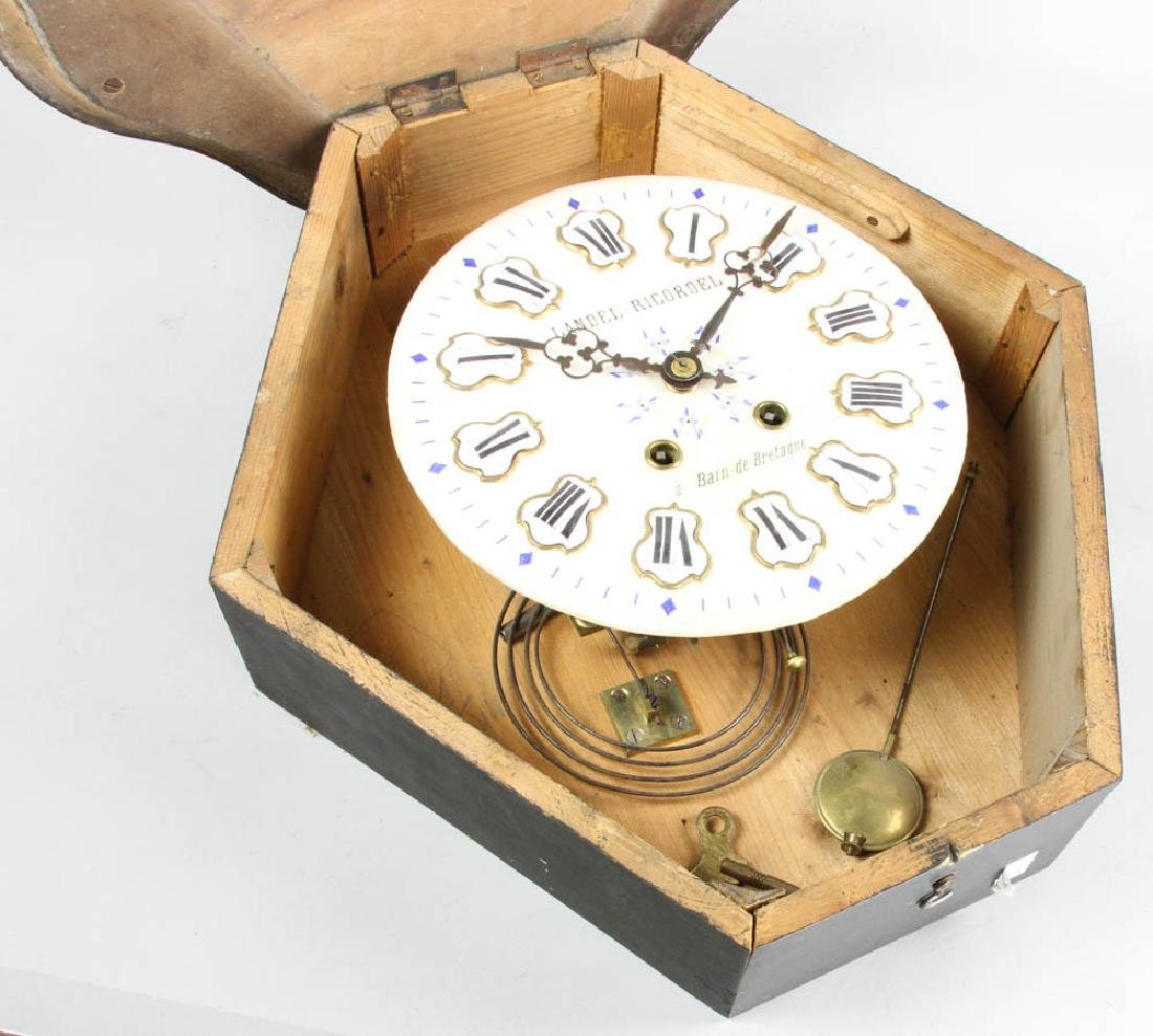 French Wall Clock, Landel Ricordel - 5